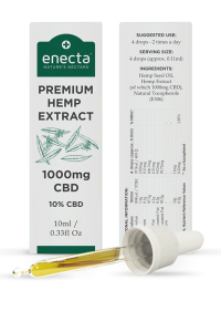 Enecta Olej CBD 10% 1000mg 10ml
