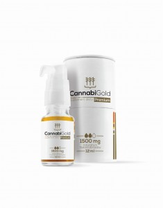 Cannabigold Premium Olej CBD 1500mg 15% 12ml