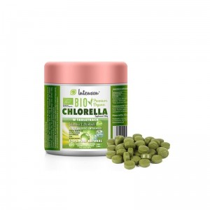 Bio Chlorella w tabletkach 200 tabletek 500mg