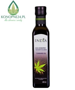 India Olej konopny 100% 250ml