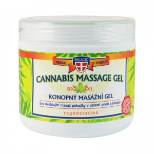 Konopny żel do masażu Palacio Cannabis 600ml